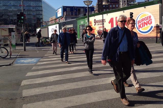 Suojatie Kööpenhaminassa ja valojen ajannäyttö
