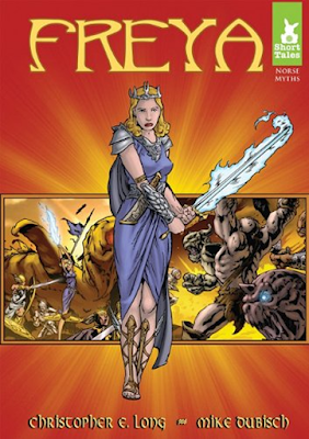norse mythology, freya, goddess of love and beauty, ragnarok: into the abyss, manhwa