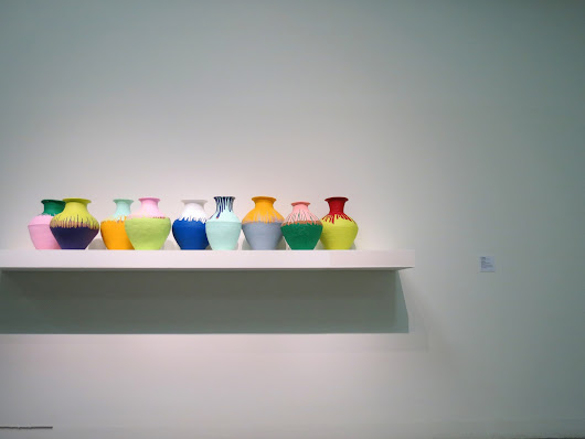 Ai Wei Wei's Nine Vases