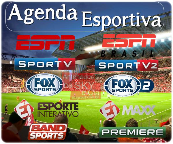 Resultado de imagem para agenda de esportes na tv