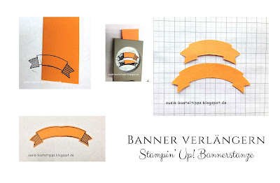Tipp Verlaengerung Stampin' Up! Bannerstanze