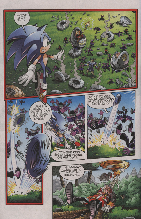 Read online Sonic The Hedgehog comic -  Issue #206 - 5