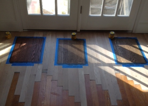 Southern Reno  The Second Story Hardwood floor stain Or a brown by any other name