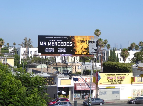 Mr Mercedes TV billboard