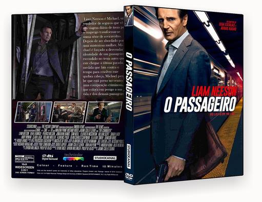 DVD-R – O PASSAGEIRO 2018 – AUTORADO