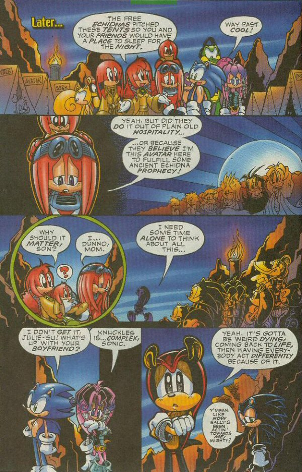 Read online Sonic The Hedgehog comic -  Issue #140 - 5