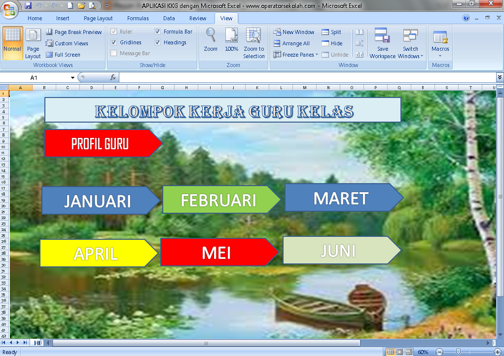 Download Aplikasi KKG Berbasis Ms. Excel Terbaru (New Update)