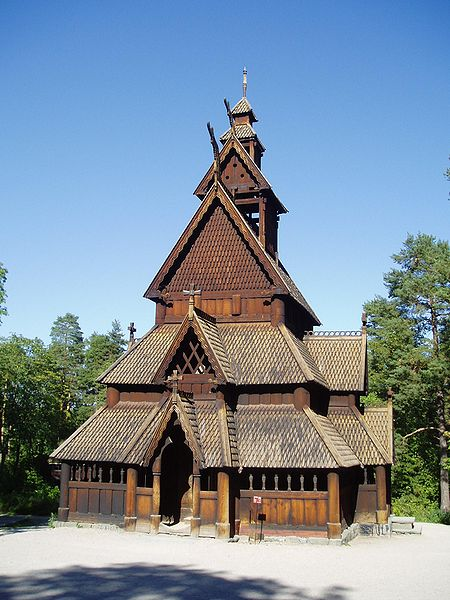 Thankfully, the Gol Stave Church was rescued from demolition by King Oscar II.