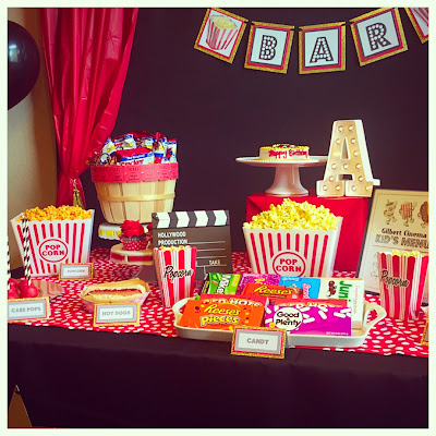 """Let's go to the Movies"" Party"