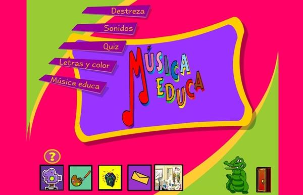 MÚSICA EDUCA (Aplicación Interactiva de Música de Primaria)