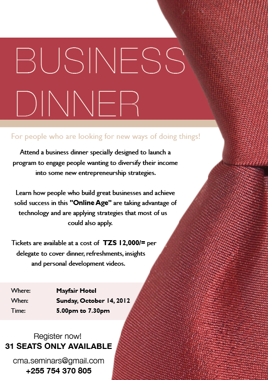 Business Invitations Templates dinner invitation template – Dinner Invitation Templates Free