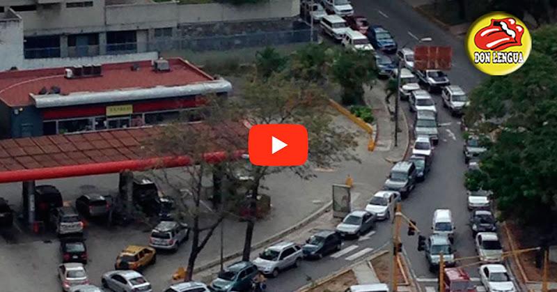 Escasez de gasolina llega nuevamente a Caracas y ahora va para largo