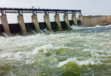 Peddavagu Dam in Bhadradri Kothagudem District