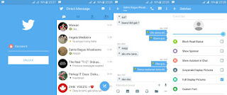 BBM Mod Twitter Versi 2.10.0.31 Apk Tema Baru Gratis