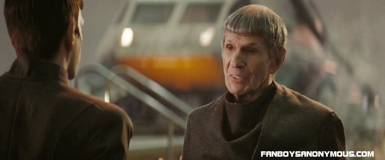 Leonard Nimoy as Spock Prime in JJ Abrams Star Trek sequel