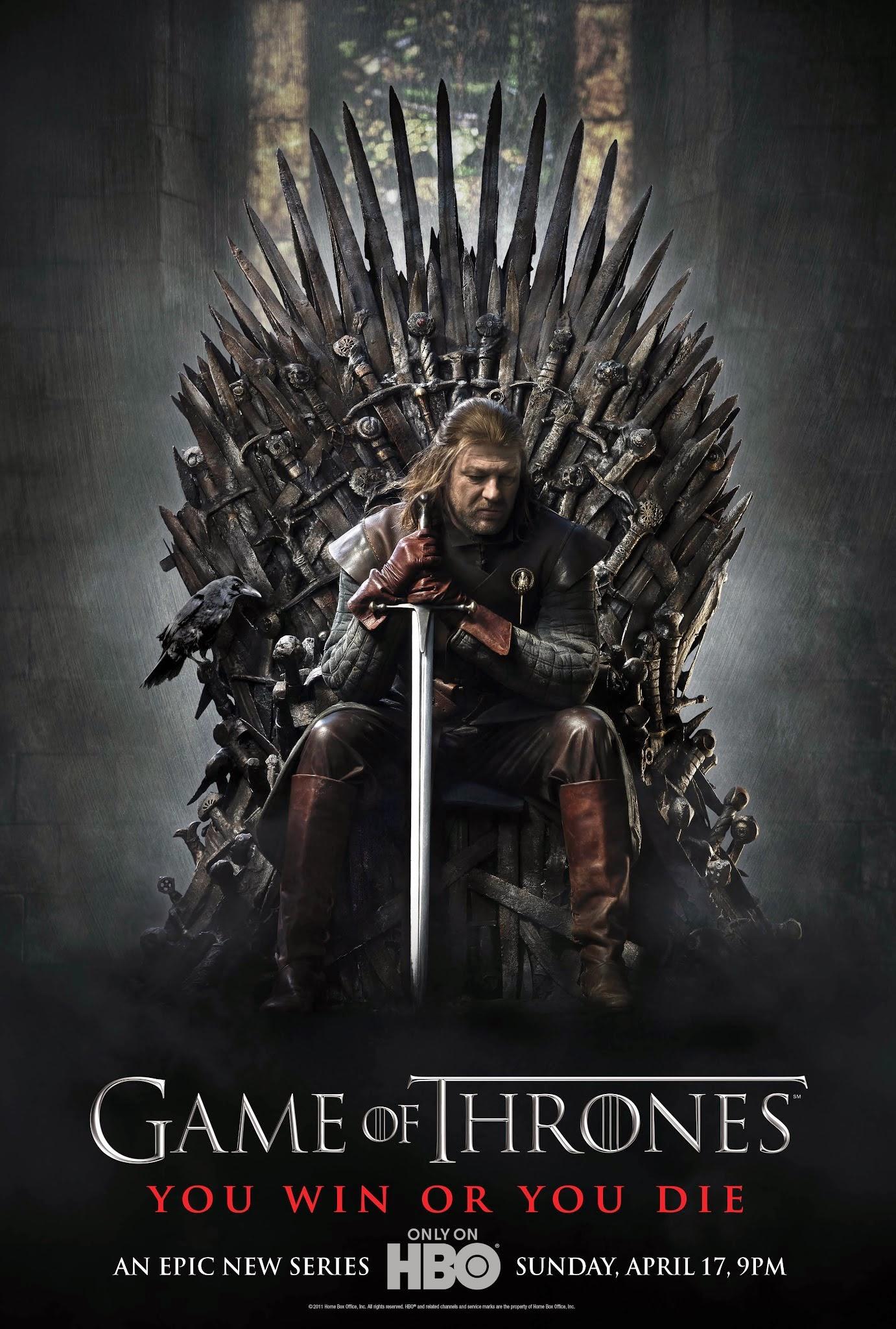 gra o tron plakat recenzja serialu HBO stark lannister sean bean