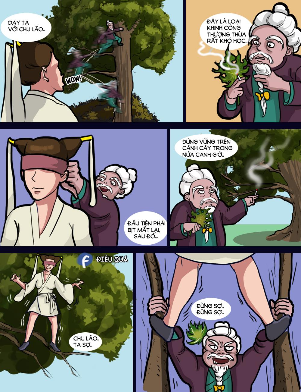 Truyện Điêu Quá #17: Chuyện Chu Lão