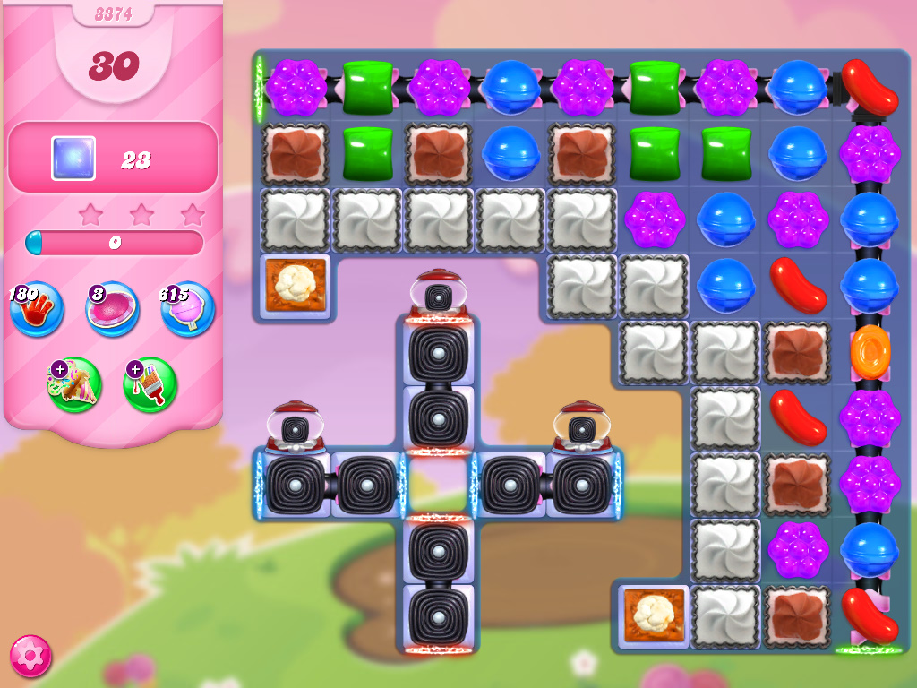 Candy Crush Saga level 3374
