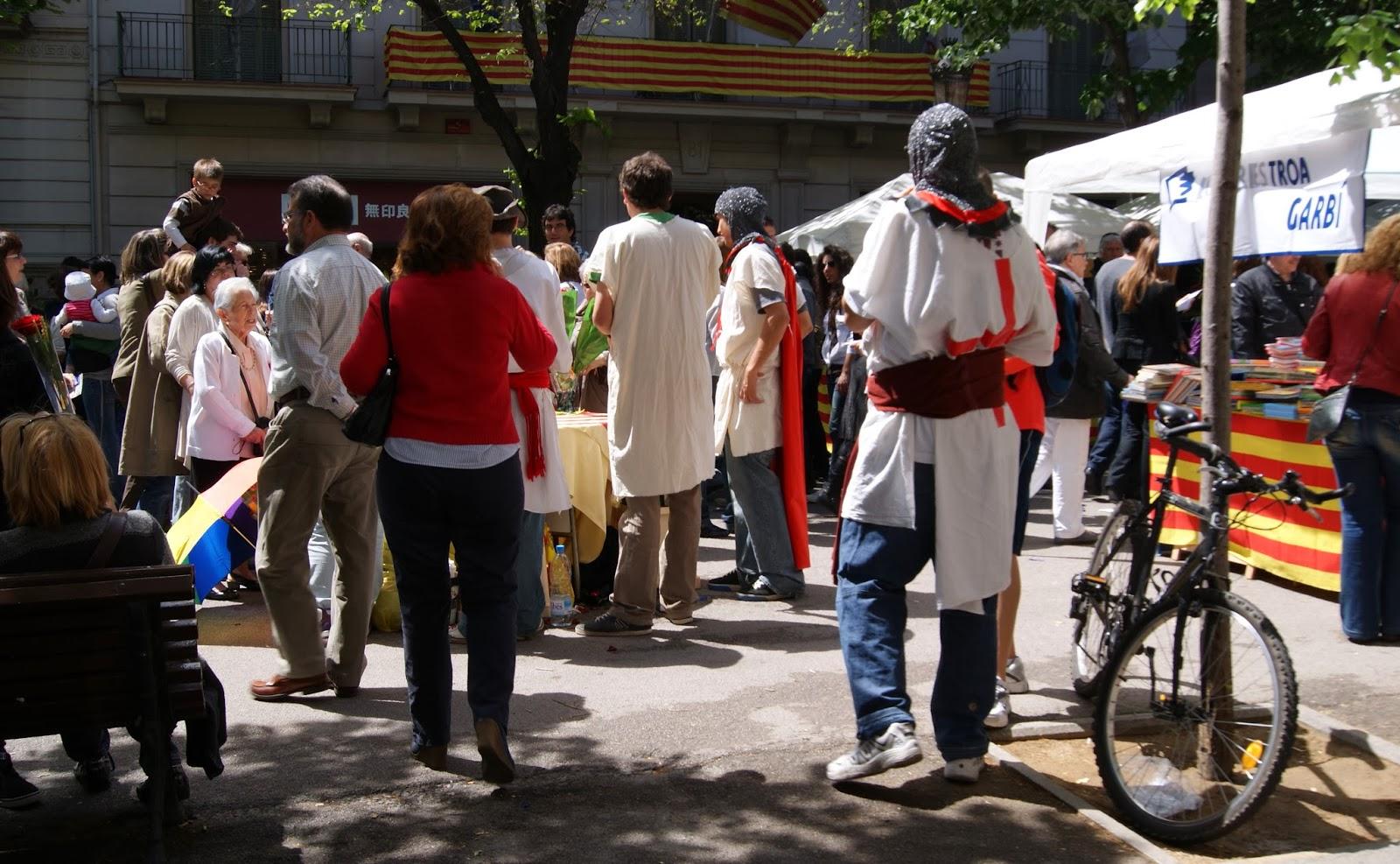 Diada de Sant Jordi, 2011 (Barcelona) per Teresa Grau Ros
