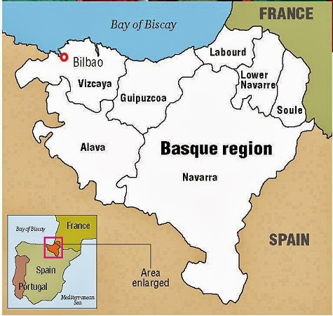 Basque France Map.El Kaos Ut Leader Of Basque Terrorist Group Eta Detained In France