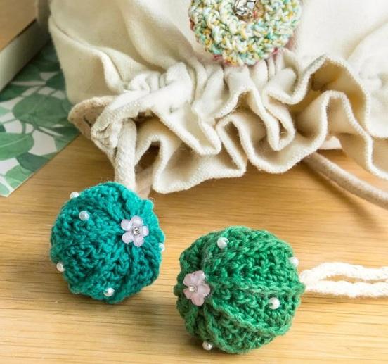 Схема вязания шариков