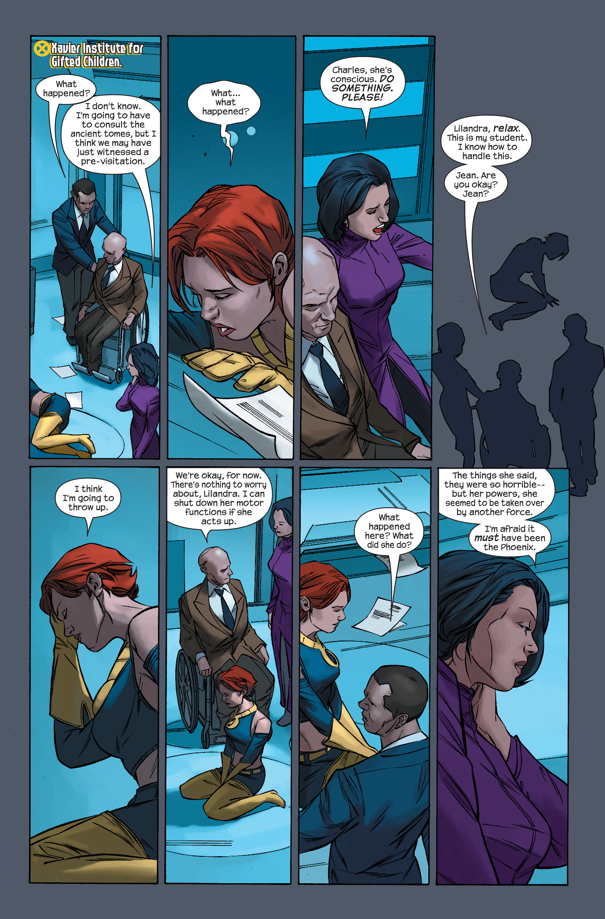 Read online Ultimate X-Men comic -  Issue #71 - 17