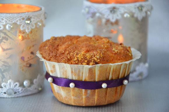 Worteltaart cupcakes
