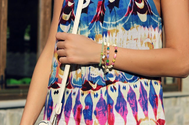 pastel color bracelets, arm candy