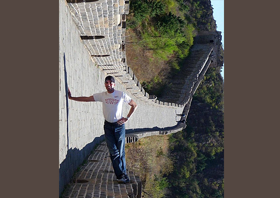 Imagen perspectiva - Ponto de vista - Muralha da China