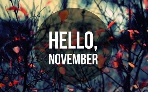 Selamat Datang November