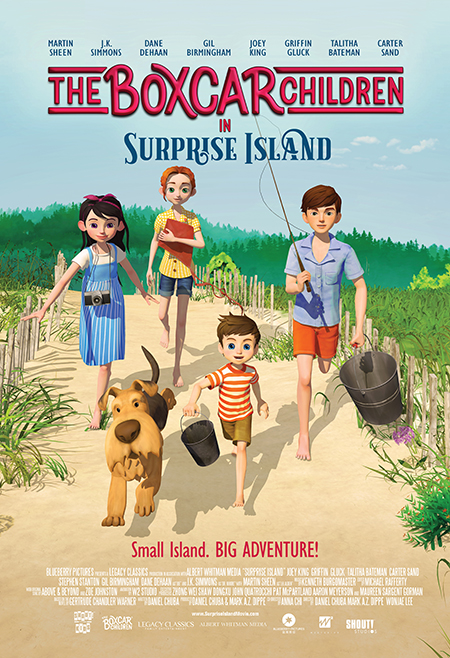 May 8 Theater Event: 'Boxcar Children - Surprise Island' Hits The Big Screen Nationwide via Fathom Events and Shout! Kids #Giveaway