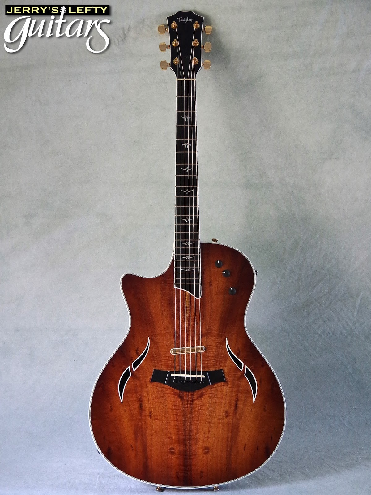jerry 39 s lefty guitars newest guitar arrivals updated weekly taylor t5 custom koa used left. Black Bedroom Furniture Sets. Home Design Ideas
