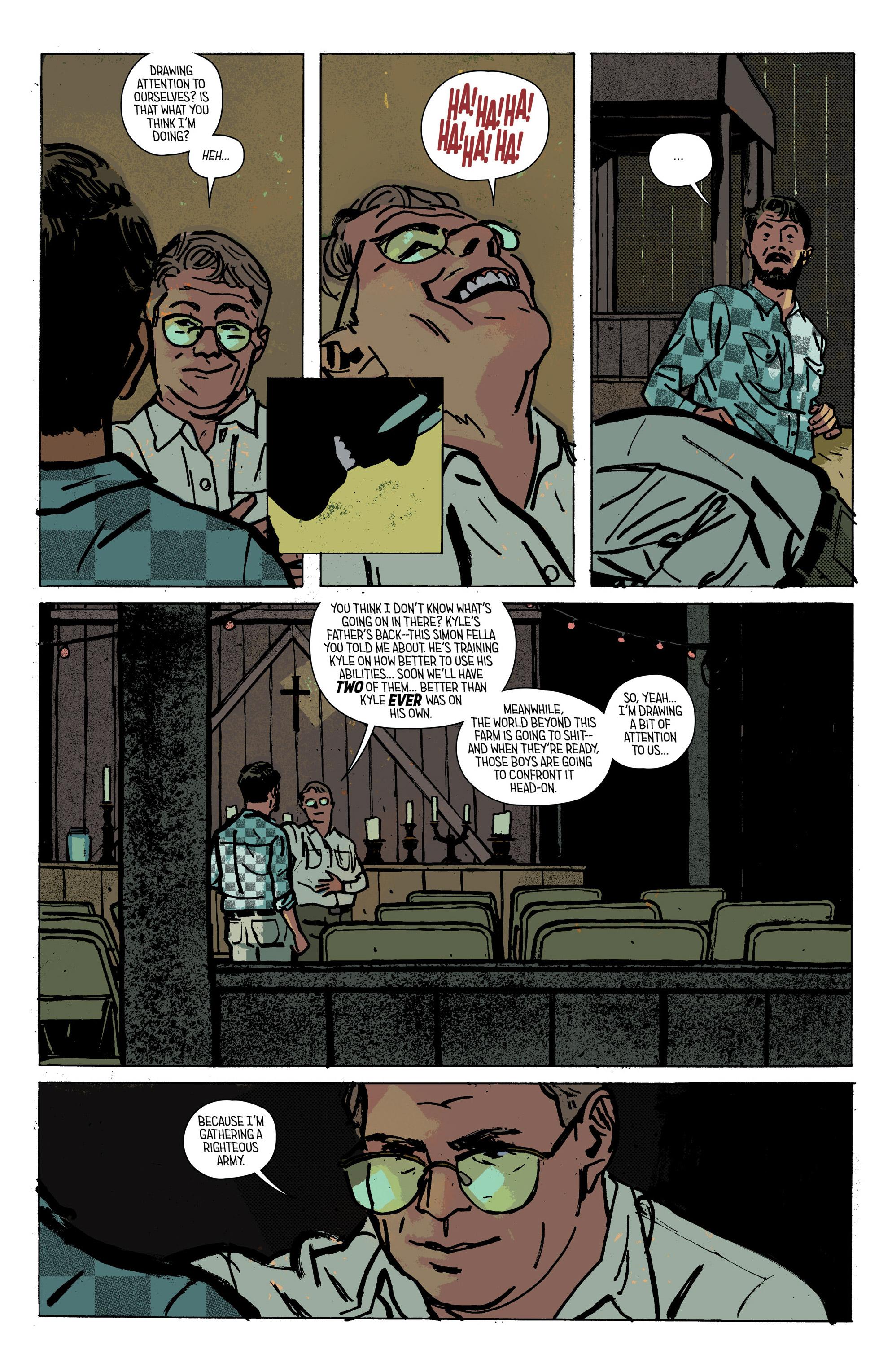 Read online Outcast by Kirkman & Azaceta comic -  Issue #28 - 13