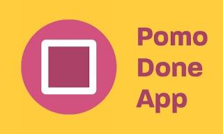 تطبيق, تقنية, البومودورو, لتنظيم, وإدارة, واستثمار, الوقت, PomoDoneApp