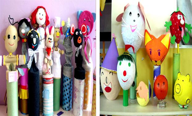 Một số biện pháp làm đồ dùng đồ chơi sáng tạo