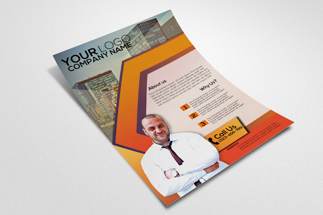 Free Corporate Flyer Design