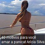 40 motivos para você amar a panicat Arícia Silva