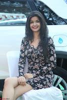 Kritika Telugu cinema Model in Short Flower Print Dress 015.JPG