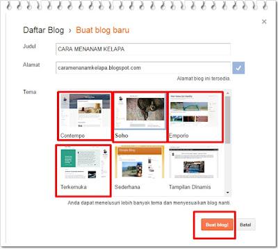 template baru responsif milik blogger