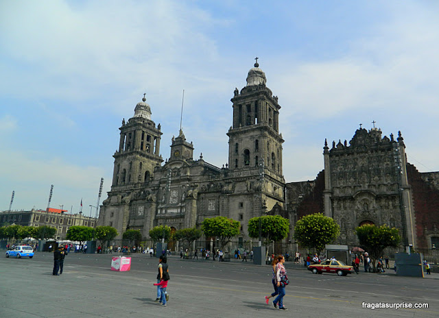 Catedral da Cidade do México - Zócalo