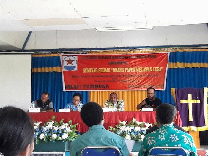 Perdana Menteri Papua Bawa Materi Dalam Seminar Sehari - Orang Papua Melawan Lupa