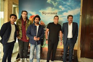 सियाराम ने क्रिकेट लीजेंड कपिल देव और गीत की टीम के साथ एंथेम4गुड 'वन इंडिया माई इंडिया' लॉन्च किया
