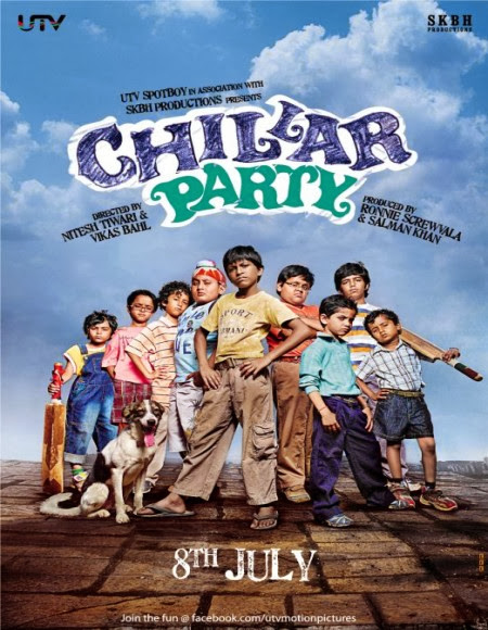 Chillar Party 2011 DVDRip 300mb