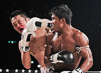 Buakaw elbow strike