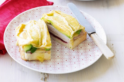 Turkey, avocado, cranberry and brie melt desserts recipes