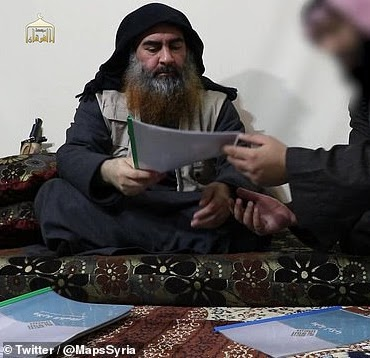 ISIS leader Abu Bakr al-Baghdadi makes first appearance since 2014 and vows to avenge his dead militants (video)