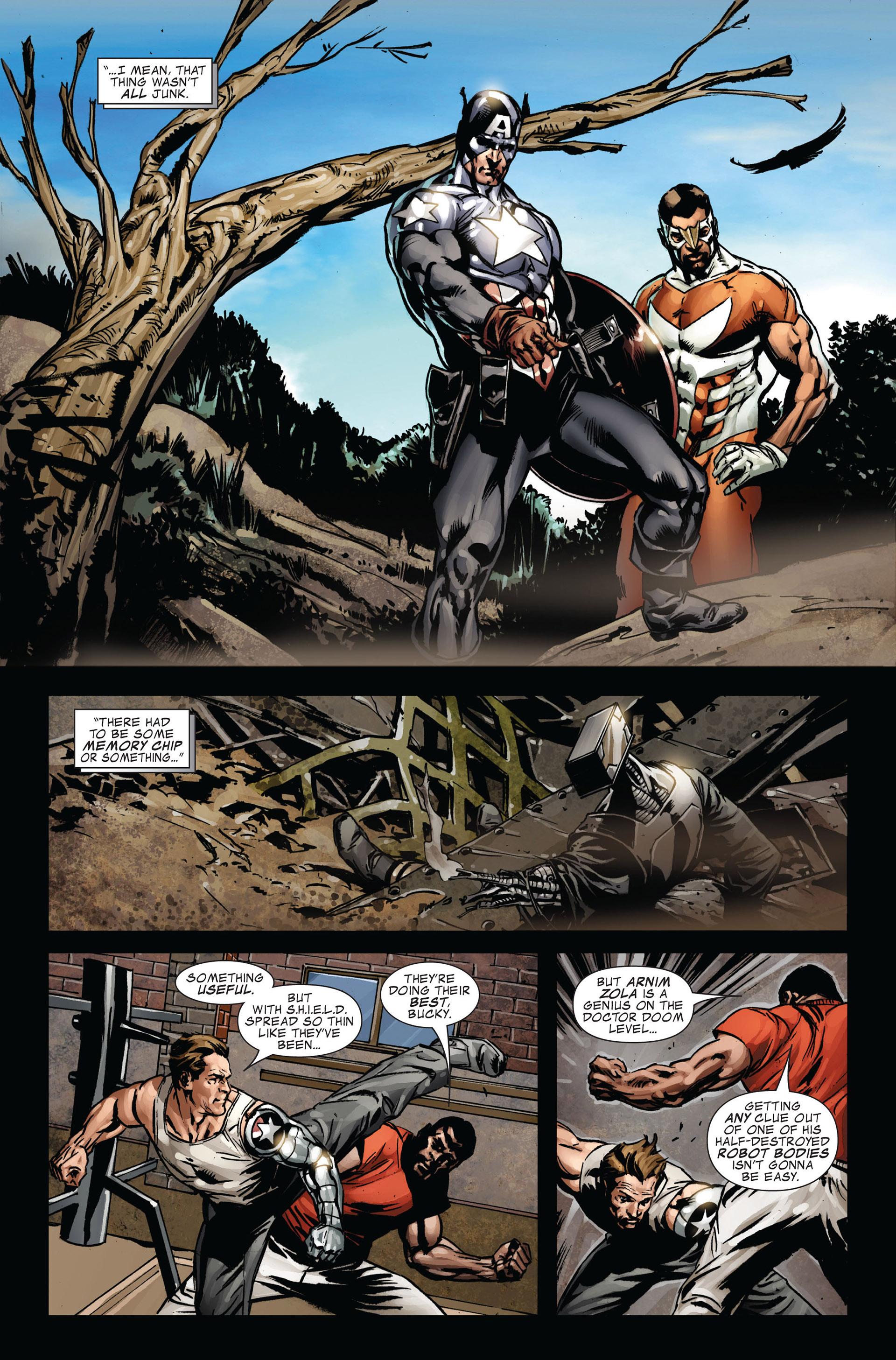 Captain America (2005) Issue #39 #39 - English 7
