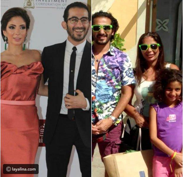 شاهدوا أحدث صورة لابنة أحمد حلمي كيف تغيرت ملامحها هل تشبه مني ذكي !