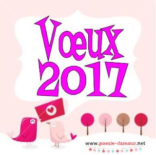 Carte virtuelle pour vœux 2017