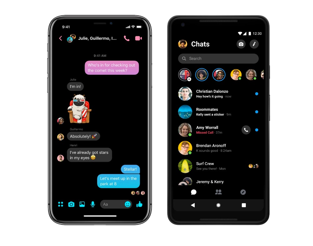 Facebook Messenger update will transform the way you use the app at NIGHT